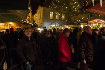 Melle Weihnachtsmarkt.Detail